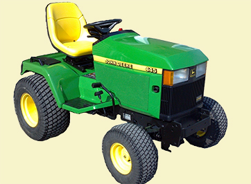 john deere tractor for illustration purposes