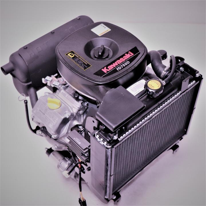 Kawasaki FD750D-PS00-s 27 hp L/C Engine With Muffler   Small