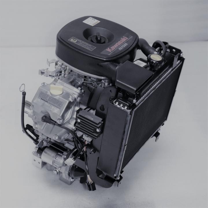 Kawasaki FD750D-_S02 27 hp L/C Engine Without Muffler